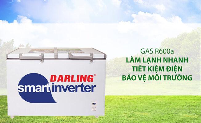 tu dong Darling su dung gas r600a